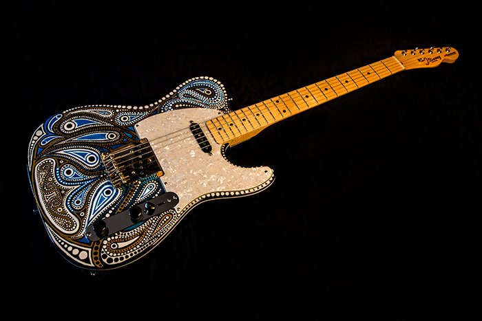 Hand Painted Tele
