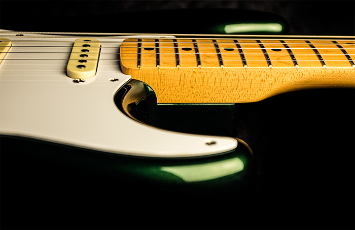 Racing Green Stratocaster